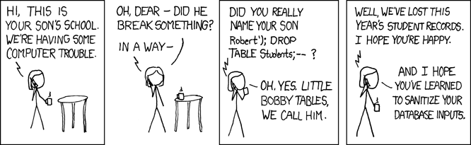 """SQL Injection"""